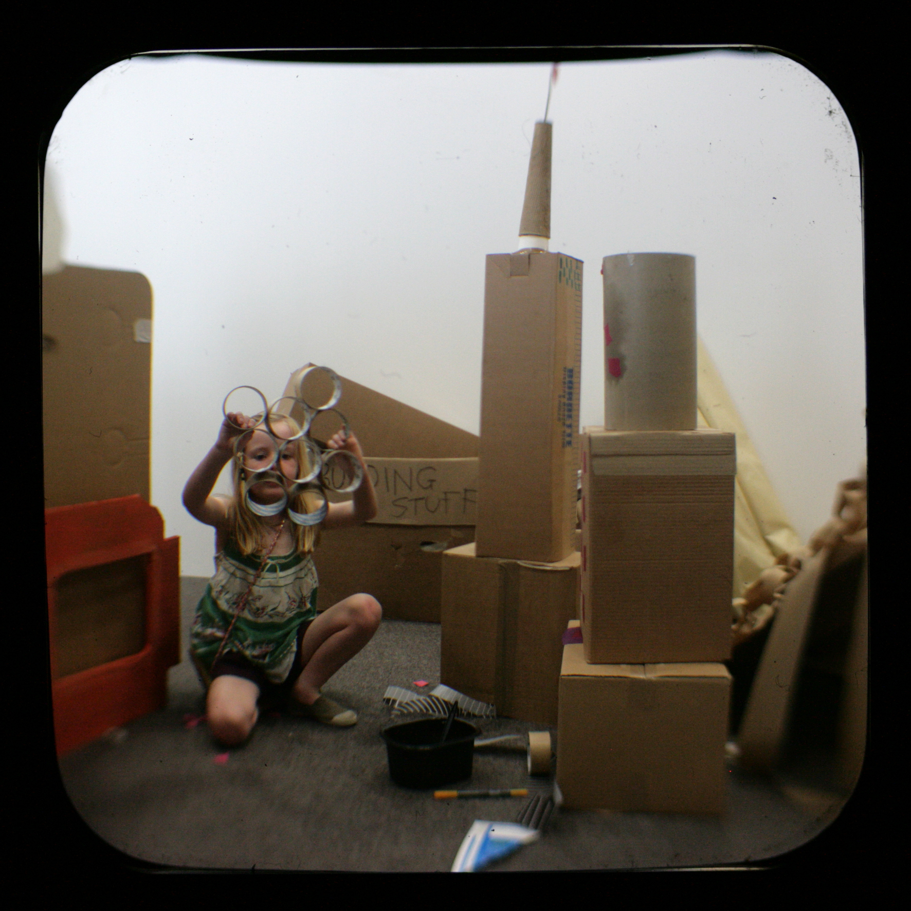 John Baucher cardboard cities 2010 2